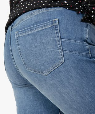 Jean femme slim gainant taille normale  vue2 - GEMO (G TAILLE) - GEMO
