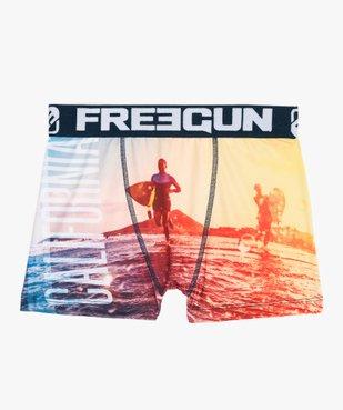 Boxer garçon à motif surf - Freegun vue1 - FREEGUN - GEMO