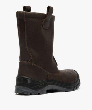 Chaussures professionnelles homme bottes de sécurité vue4 - GEMO (EQUIPT) - GEMO