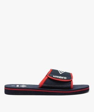 Mules de piscine garçon bicolores à scratch - Umbro vue1 - UMBRO - Nikesneakers