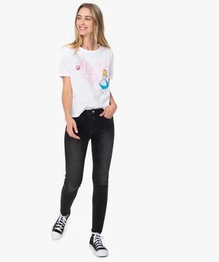 Tee-shirt femme large avec imprimé XXL - Disney vue5 - DISNEY - GEMO