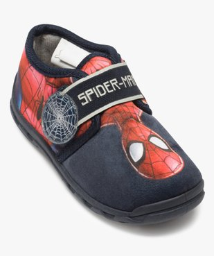 Chaussons garçon avec fermeture scratch – Spiderman vue5 - SPIDERMAN - GEMO