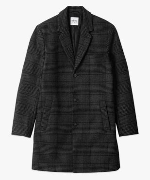 Manteau court homme effet drap de laine vue4 - GEMO (HOMME) - GEMO