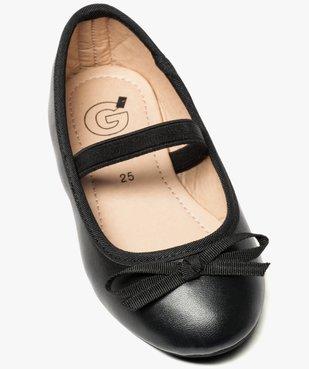Ballerines fille unies à bride élastique et nœud décoratif vue5 - Nikesneakers (ENFANT) - Nikesneakers