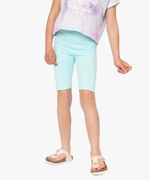 Short fille en maille extensible façon leggings vue1 - GEMO (ENFANT) - GEMO
