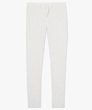 Pantalon de pyjama femme en maille côtelée vue4 - Nikesneakers(HOMWR FEM) - Nikesneakers