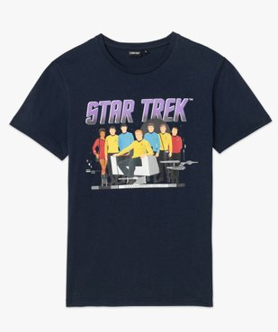 Tee-shirt homme avec motif Star Trek vue4 - STAR TREK - GEMO
