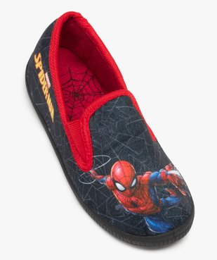 Chaussons garçon en velours ras Spiderman - Marvel vue5 - SPIDERMAN - GEMO