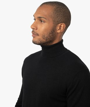 Pull homme à col roulé en maille fine vue2 - Nikesneakers (HOMME) - Nikesneakers