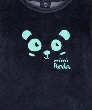 Pyjama bébé garçon avec motif panda vue2 - GEMO(BB COUCHE) - GEMO