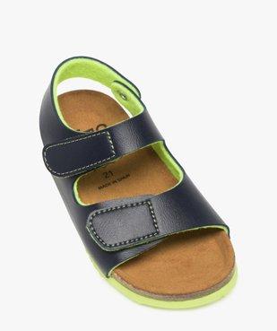 Sandales bébé garçon à double scratch et semelle anatomique vue5 - GEMO(BEBE DEBT) - GEMO
