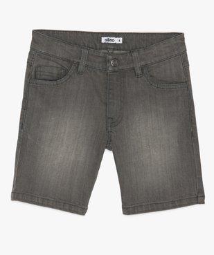 Bermuda garçon en jean coupe Regular vue1 - GEMO (ENFANT) - GEMO