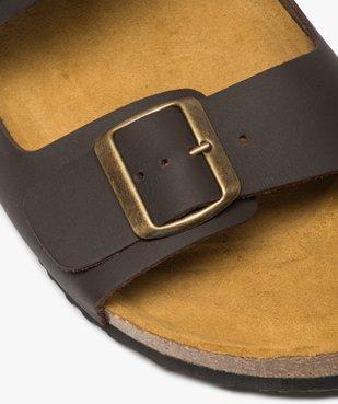 Sandales homme en cuir à larges brides à boucle vue6 - Nikesneakers (CASUAL) - Nikesneakers