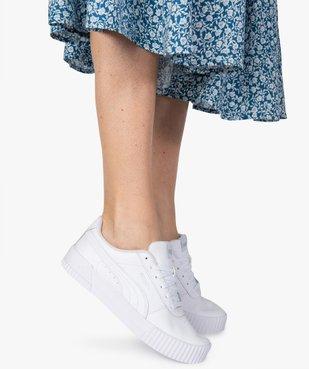 Baskets femme dessus cuir à lacets - Puma Carina L vue1 - PUMA - Nikesneakers