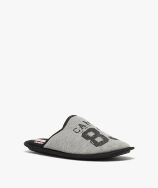 Chaussons homme mules plates en jersey – Camps United vue2 - CAMPS UNITED - GEMO