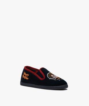 Chaussons enfant pantoufles en velours – Harry Potter vue2 - HARRY POTTER - Nikesneakers