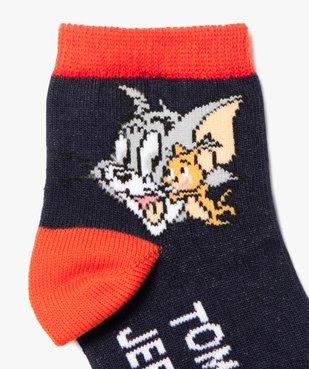 Chaussettes bébé garçon bicolores (lot de 2) – Tom and Jerry vue2 - TOM ET JERRY - GEMO