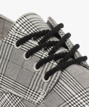Derbies homme souples lacets cordelette et semelle contrastante vue6 - GEMO (CASUAL) - GEMO