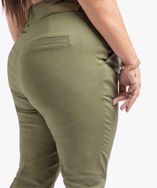 Pantalon 7/8ème avec bas fantaisie - Gémo x Lalaa Misaki vue2 - GEMO (G TAILLE) - GEMO