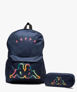 Sac à dos fille avec sa trousse - Kappa vue1 - KAPPA - GEMO