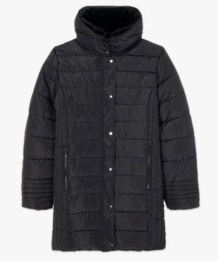 Manteau femme matelassé avec col doublé vue4 - GEMO (G TAILLE) - GEMO