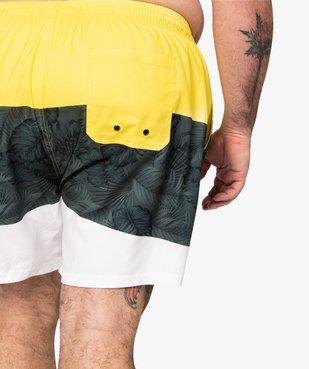 Short de bain homme tricolore vue2 - Nikesneakers (PLAGE) - Nikesneakers