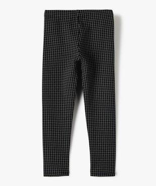 Pantalon fille en maille extensible à carreaux vue3 - Nikesneakers (ENFANT) - Nikesneakers