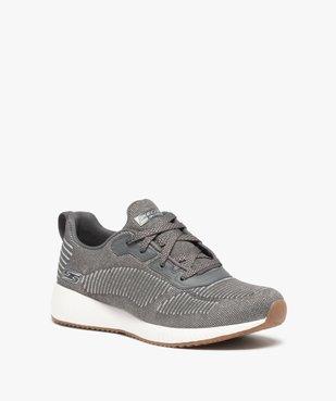 Tennis femme à lacets extra légères en mesh – Skechers Bobs vue2 - SKECHERS - Nikesneakers