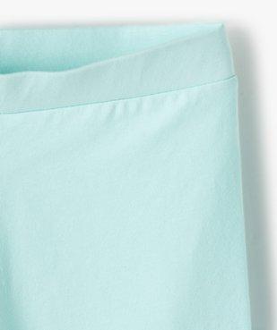 Short fille en maille extensible façon leggings vue3 - GEMO (ENFANT) - GEMO
