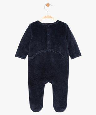 Pyjama bébé garçon avec motif panda vue3 - GEMO(BB COUCHE) - GEMO
