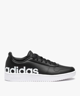 Baskets homme unies à lacets – Adidas Hoops 2.0 vue1 - ADIDAS - GEMO