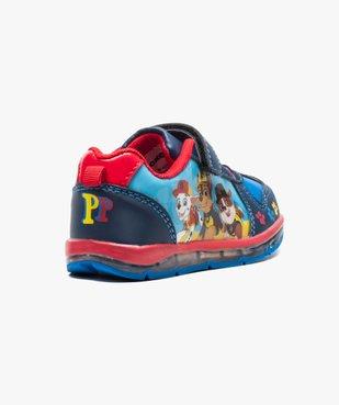 Baskets multicolores avec semelle clignotante - Pat Patrouille vue4 - PAT PATROUILLE - GEMO