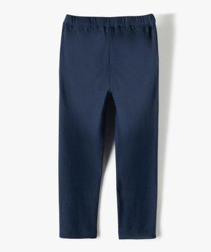 Pantalon fille en maille extensible avec liserés pailletés - Lulu Castagnette vue4 - LULUCASTAGNETTE - Nikesneakers