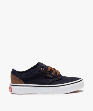 Baskets garçon skateshoes en toile - Vans Atwood vue1 - VANS - GEMO