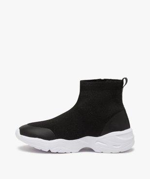 Baskets fille style chaussettes zippées – Lulu Castagnette vue3 - LULU CASTAGNETT - Nikesneakers