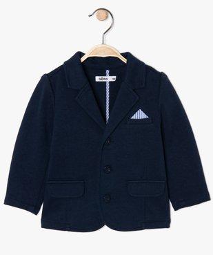Veste bébé garçon en maille confortable vue1 - GEMO(BEBE DEBT) - GEMO