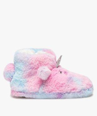 Chaussons fille boots en forme de licorne vue1 - GEMO (ENFANT) - GEMO
