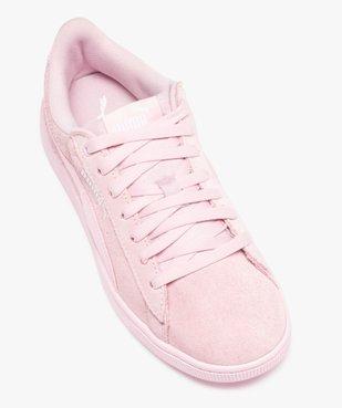 Baskets femme bicolores dessus cuir – Puma Vikky vue5 - PUMA - Nikesneakers