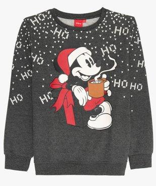 Sweat de Noël avec motif Mickey - Disney vue1 - MICKEY - GEMO