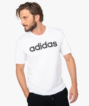 Tee-shirt homme avec inscription contrastante – Adidas vue1 - ADIDAS - GEMO