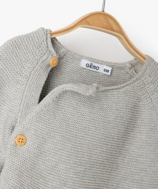 Gilet bébé fille avec fermeture boutons sur le côté vue2 - Nikesneakers(BB COUCHE) - Nikesneakers