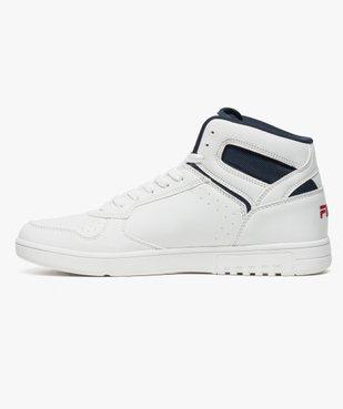 Basket blanche montante - Fila F-Forward Mid vue3 - FILA - Nikesneakers