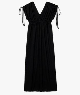 Robe de soirée femme avec manches froncées vue4 - GEMO(FEMME PAP) - GEMO