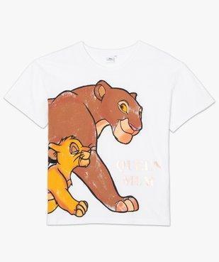 Tee-shirt femme oversize avec motif XXL - Disney vue4 - DISNEY DTR - Nikesneakers