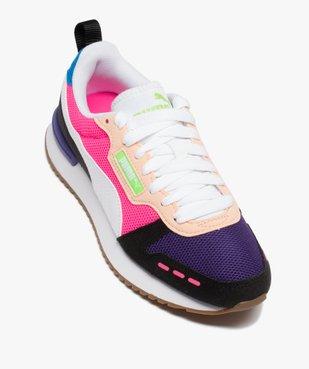 Baskets femme multicolores – Puma R78 vue5 - PUMA - Nikesneakers