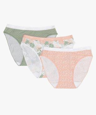 Culottes femme en coton stretch (lot de 3) – Les Pockets de Dim vue1 - DIM - GEMO