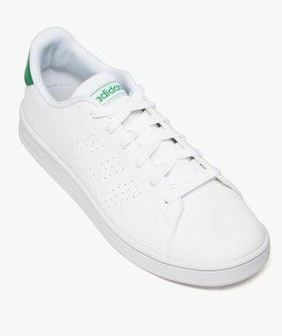 Baskets femme motifs perforés et lacets – Adidas Advantage K vue5 - ADIDAS - GEMO