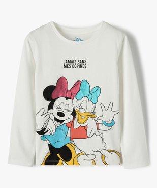 Tee-shirt fille à manches longues imprimé - Disney vue1 - DISNEY DTR - GEMO