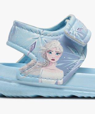 Sandales de plage fille à scratch – Reine des Neiges vue6 - REINE DES NEIGE - GEMO