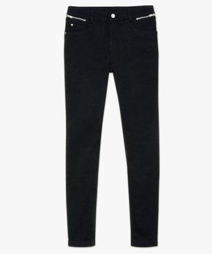 Pantalon femme coupe slim effet push-up vue4 - GEMO(FEMME PAP) - GEMO